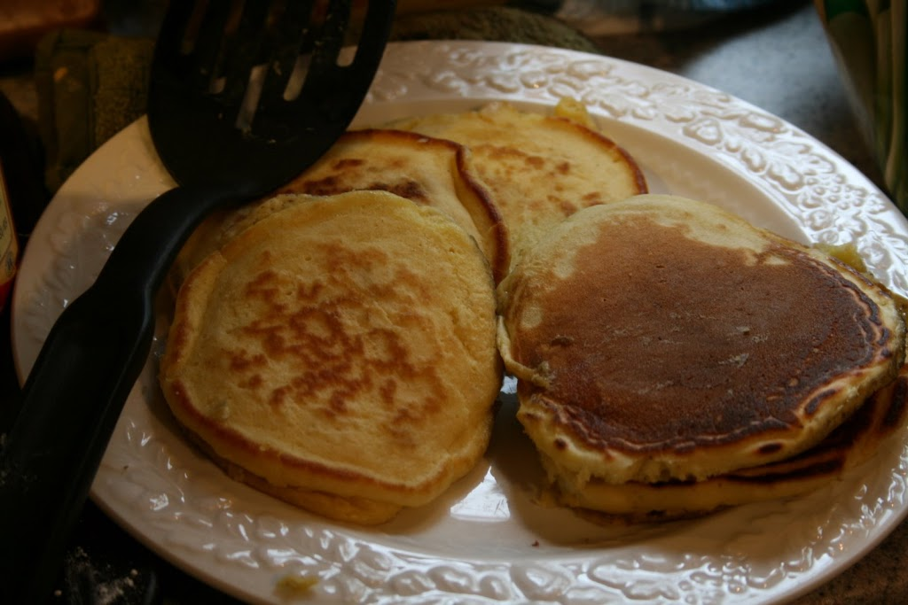 Pancakes, lectionary and being subject.
