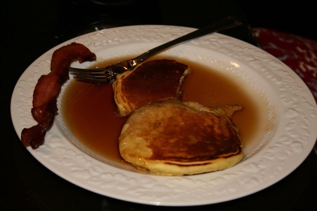 Pancake humor.